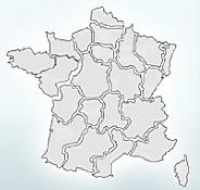 Recherche géographique d'hôtels en France