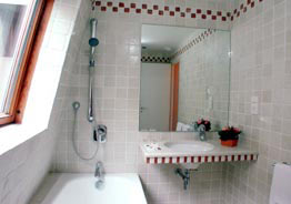 Salle de bain Hôtel du Vieux Marais Paris
