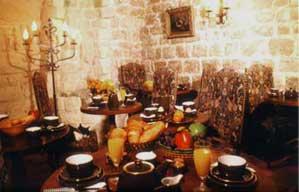 Salle petit déjeuner Hôtel Saint-Paul Paris