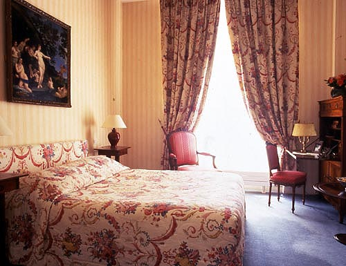 Chambre Hôtel des Saints Pères Paris