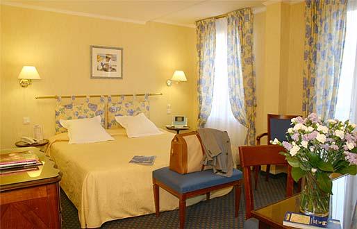 Chambre Hôtel Relais Bosquet Paris