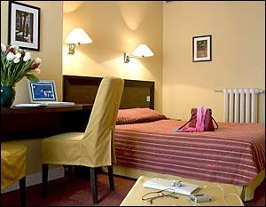 Chambre Hôtel Brescia Paris