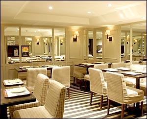 Salle petit déjeuner Hôtel Brescia Paris