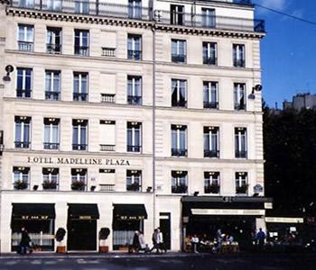 Hôtel Madeleine Plaza Paris