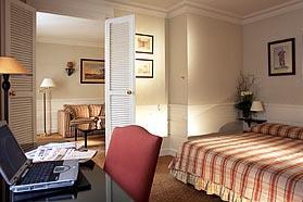 Chambre Hôtel Balzac Paris
