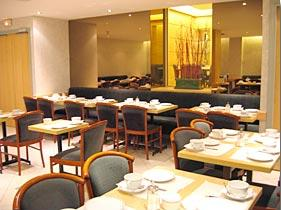 Salle petit déjeuner Grand Hôtel du Havre Paris
