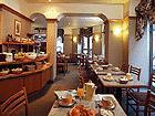 Salle petit déjeuner Mercure Paris Lafayette