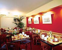 Salle petit déjeuner Hôtel Corona Opéra Paris