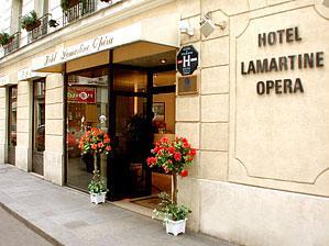 Hôtel Lamartine Opéra Paris