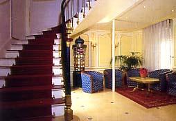 Hall Hôtel le Havane Paris