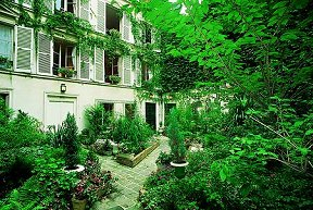 Jardin Hôtel Villa Fenelon Paris