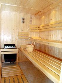 Sauna Hôtel Impérial Paris