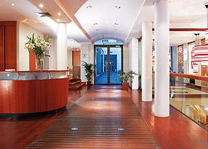 Hall Hôtel Pulitzer Opéra Paris