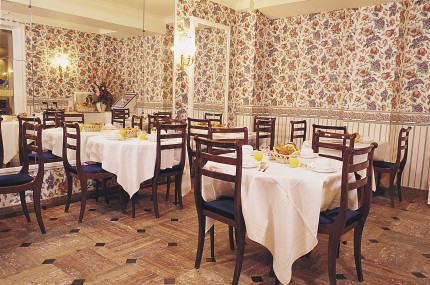 Salle petit déjeuner Hôtel Mondial Paris