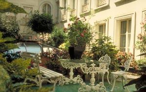 Jardin Hôtel Bergère Opéra Paris
