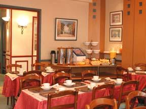 Salle petit déjeuner Grand Hotel Haussmann Paris