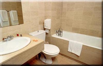Salle de bain Hôtel Eurotel Paris