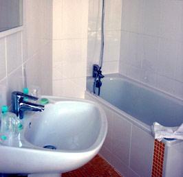 Salle de bain Hôtel de Londres et d'Anvers Paris