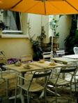 Jardin intérieur Hôtel Gilden Magenta Paris
