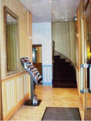 Entrée Hôtel de l'Exposition Paris