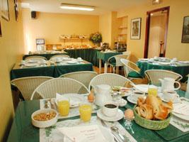 Salle petit déjeuner Best Western Hôtel Albert 1er Paris