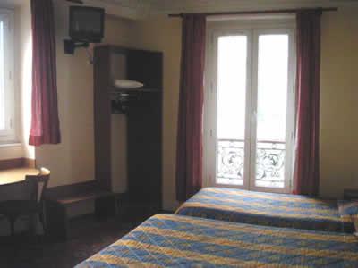 Chambre Grand Hôtel Magenta Paris