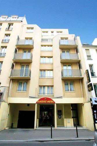 Classics Hotel Bastille Paris