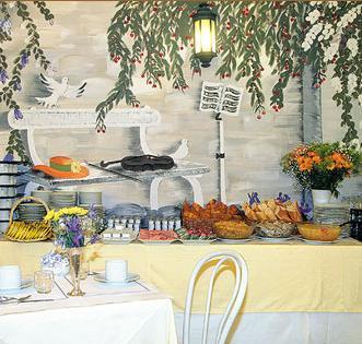 Petit déjeuner New Hotel Candide  Paris