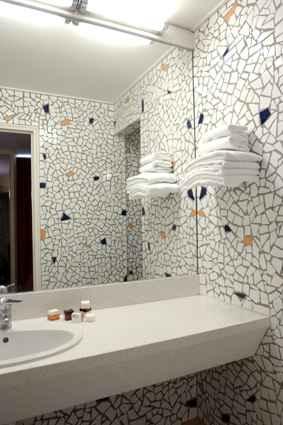 Salle de bain Hôtel Beaumarchais Paris