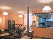 Salle petit déjeuner Hôtel Alcyon l'Origan Paris