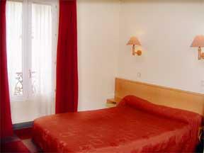 Chambre Amadeus Hôtel Paris