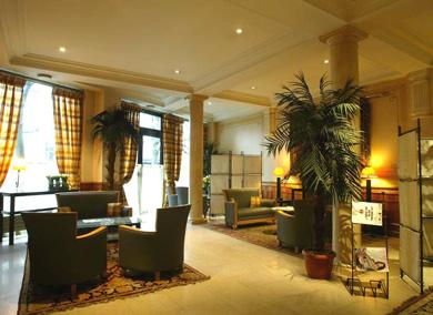 Entrée Hotel Claret Paris
