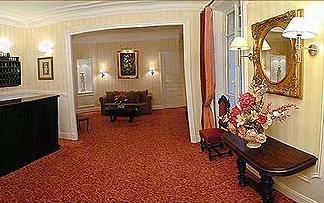Réception Hôtel de la Porte Dorée Paris