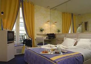 Chambre Hôtel le Pavillon Bastille Paris