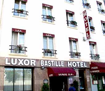 Hôtel Luxor Bastille Paris