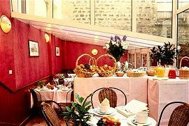 Salle petit déjeuner Gest Hotel Reuilly Paris