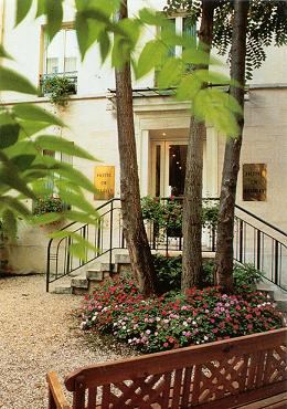 Entrée Gest Hotel Reuilly Paris