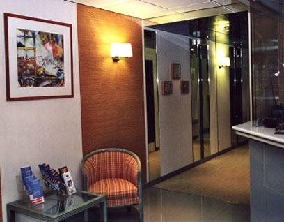 Entrée Amhotel Italie Paris
