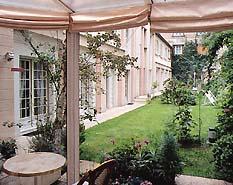 Jardin Résidence Hôtelière le Vert Galant Paris