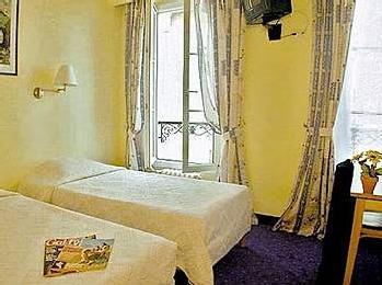 Chambre Hôtel Villa du Maine Paris