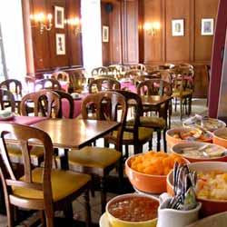 Salle petit déjeuner Grand Hôtel des Gobelins Paris