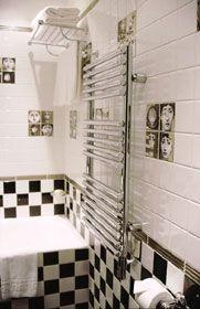 Salle de bain Villa Lutéce Port Royal Paris
