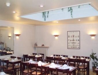 Salle petit déjeuner Kyriad Italie Gobelins Paris