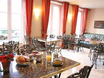Salle petit déjeuner Hôtel Du Parc Paris