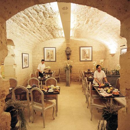 Salle petit déjeuner Hôtel des Ducs d'Anjou