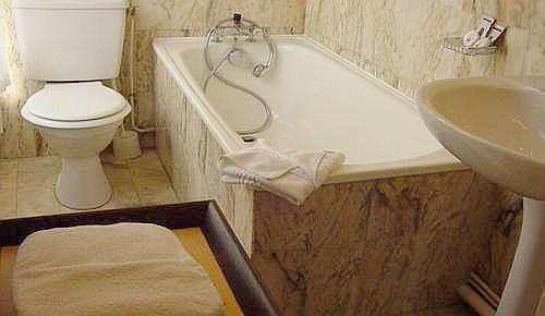 Salle de bain Hôtel Daunou Opéra Paris