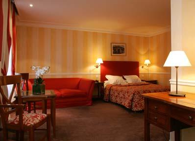 Chambre Hôtel le Royal Paris