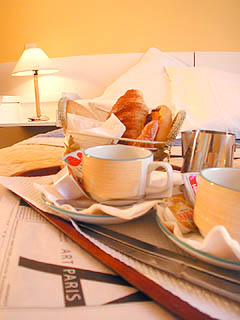 Petit déjeuner Hôtel Odessa Montparnasse Paris