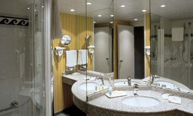 Salle de bain Hôtel Le Méridien Montparnasse Paris