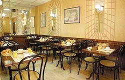 Salle petit déjeuner Hôtel Terminus Orléans Paris